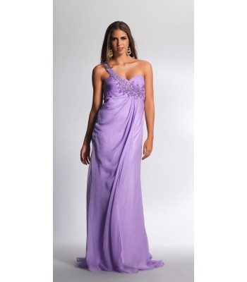 Dave and Johnny 7048 Lavender Dress Evening Gown Size 7/8 New NWT Formal Lilac