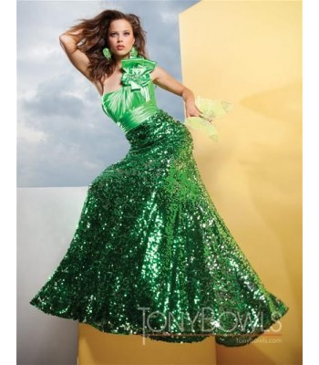 Tony Bowls 111539 Jade Formal Evening Gown Dress Size 10 NWT Pageant $418 RETAIL