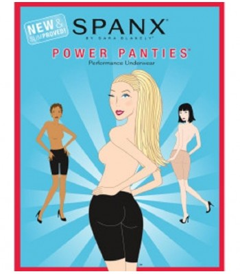Spanx  Power Panties®, New & Slimproved! Size A B C Black  New NIP Shapewear